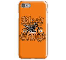 Bleed Orange iPhone Case/Skin