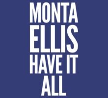 Monta Ellis shirt, Monta Ellis Have It All tshirt, NBA Dallas Mavericks t-shirt, basketball apparel by gsic