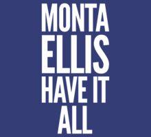 Monta Ellis shirt, Monta Ellis Have It All tshirt, NBA Dallas Mavericks t-shirt, basketball apparel by gsic
