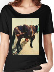 Moroccan Donkey Women's Relaxed Fit T-Shirt