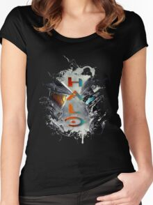Halo - 5 Women's Fitted Scoop T-Shirt