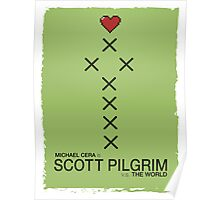 Minimalist Scott Pilgrim Poster Poster