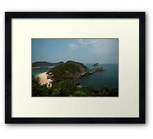 Monkey Island at Halong Bay Framed Print