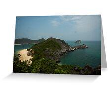 Monkey Island at Halong Bay Greeting Card