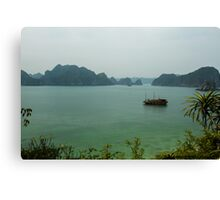 Monkey Island at Halong Bay Canvas Print