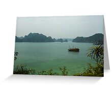 Monkey Island at Halong Bay Greeting Card