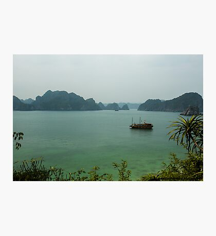 Monkey Island at Halong Bay Photographic Print