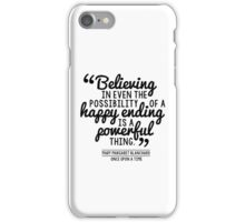 Happy Ending - Mary Margaret iPhone Case/Skin
