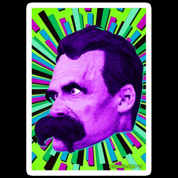 Nietzsche Burst 6 - by Rev. Shakes by Rev. Shakes Spear