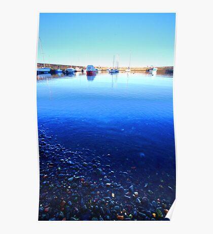 Fisherrow Pebbles Poster