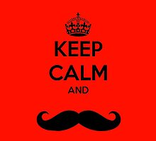 Keep Calm and Moustache by imoulton