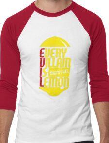 EVERY VILLIAN IS LEMON Men's Baseball ¾ T-Shirt