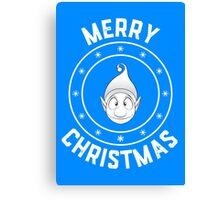 Ollie's Merry Christmas Logo Canvas Print