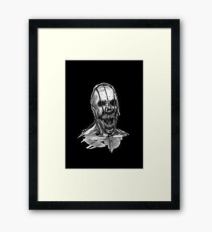 The Horror Framed Print
