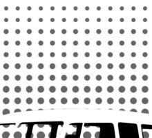 Halftone - VW Splitty Camper Van Sticker