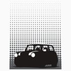 Halftone - Mini Cooper by Richard Yeomans