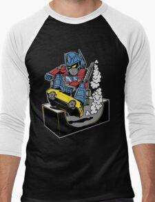 SKATER PRIME Men's Baseball ¾ T-Shirt