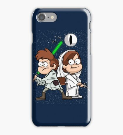 Wonder Twins Star Wars iPhone Case/Skin