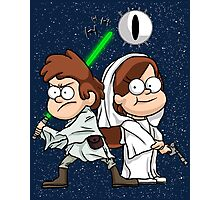 Wonder Twins Star Wars Photographic Print