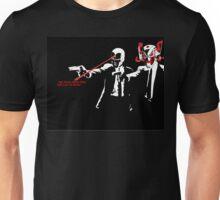 Ultron Vision Pulp Fiction Unisex T-Shirt