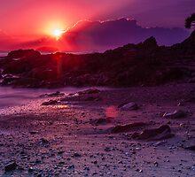 Sunrise Emerald Beach by Normf