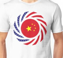 Chinese American Multinational Patriot Flag Series Unisex T-Shirt