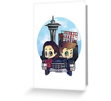 Winchesters in Seattle Greeting Card