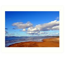 Donegal Surf Sun Rise Art Print