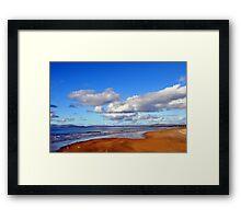 Donegal Surf Sun Rise Framed Print