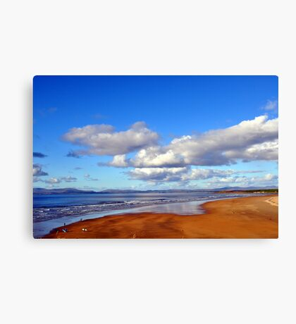 Donegal Surf Sun Rise Canvas Print