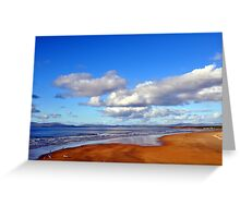 Donegal Surf Sun Rise Greeting Card