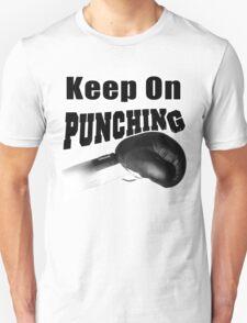 Keep On Punching (Black) T-Shirt