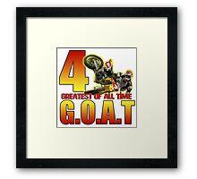 TheGOAT Framed Print