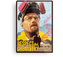 Respect the Chemistry  Metal Print