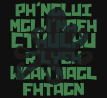 The Call of Cthulhu by H. P. Lovecraft V.1 Kids Clothes