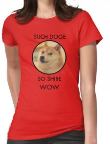 Such Doge Womens Fitted T-Shirt