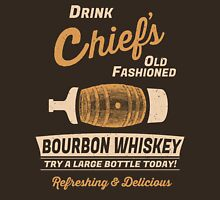 Chief's Old Fashioned Bourbon Whiskey Unisex T-Shirt