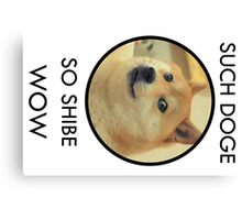Such Doge Canvas Print