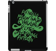 The Call of Cthulhu by H. P. Lovecraft V.2 iPad Case/Skin