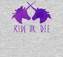 Ride or Die x Unicorn x Purple Pullover