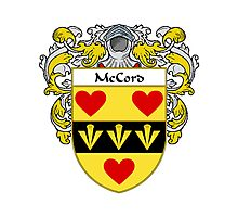 McCord Coat of Arms/Family Crest Photographic Print