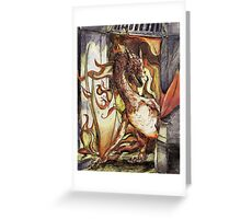 I am Fire! Greeting Card