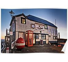 The Old Boathouse Poster