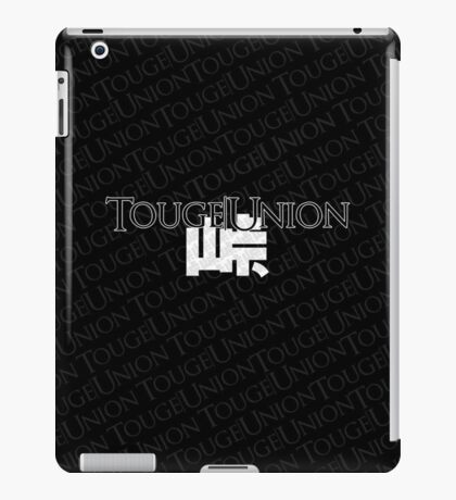 Touge Union Ipad Case - Black iPad Case/Skin