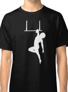 Aerialist on Trapeze Silhouette Woman Classic T-Shirt
