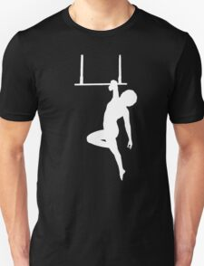 Aerialist on Trapeze Silhouette Woman Unisex T-Shirt