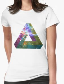 God's Impossible Triangle V1 | MXTHEMATIX Womens Fitted T-Shirt