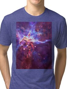 God's Domain Purple | MXTHEMATIX Tri-blend T-Shirt