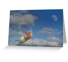 Dream a little dream Greeting Card