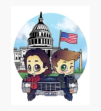 Winchesters in DC Photographic Print